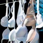 Как можно быстро отстирать белый бюстгальтер в домашних условиях